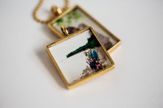 gold lockets with photos